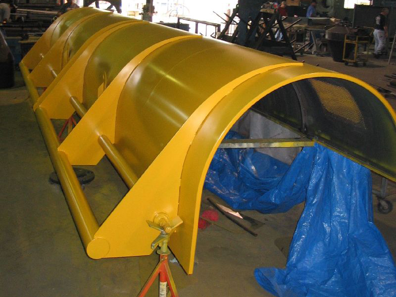 Custom Fabricated Machine Guards